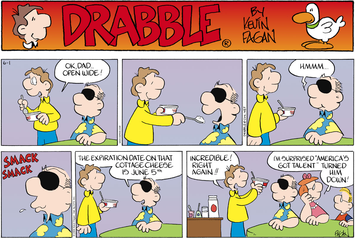 Drabble Comic Strip for June 01, 2008