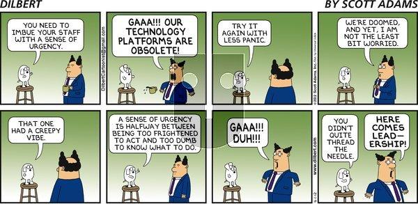 Dilbert - Sunday April 1, 2012 Comic Strip