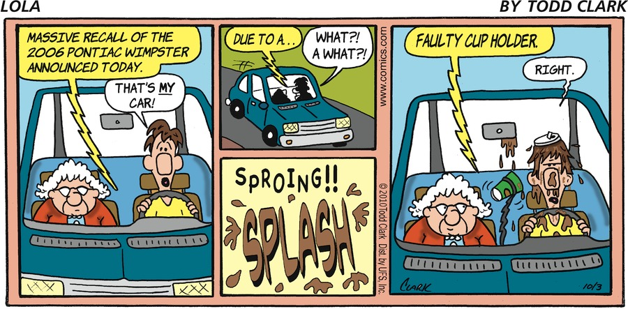 Lola Comic Strip for October 03, 2010