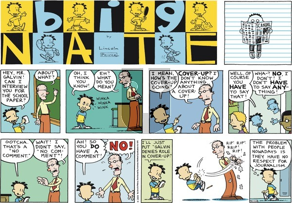 Big Nate on Sunday May 6, 2018 Comic Strip