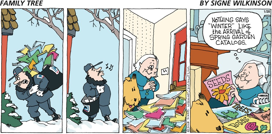 Family Tree Comic Strip for January 20, 2008