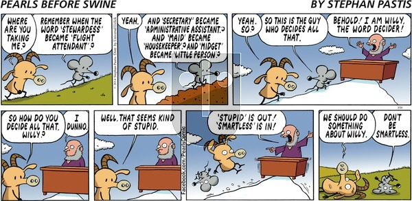 Pearls Before Swine on Sunday March 30, 2014 Comic Strip