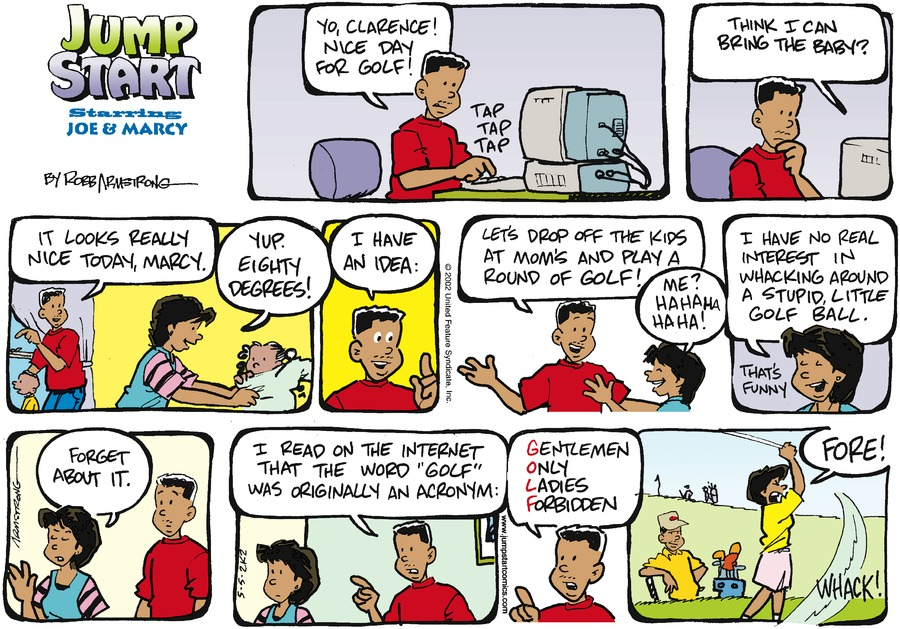 JumpStart Comic Strip for May 05, 2002