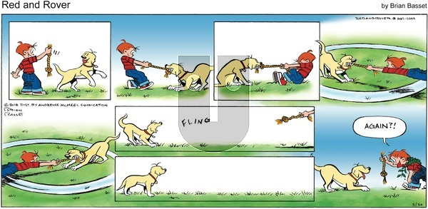 Red and Rover on Sunday May 20, 2018 Comic Strip