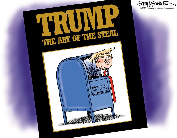 Gary Markstein Comic Strip for August 19, 2020