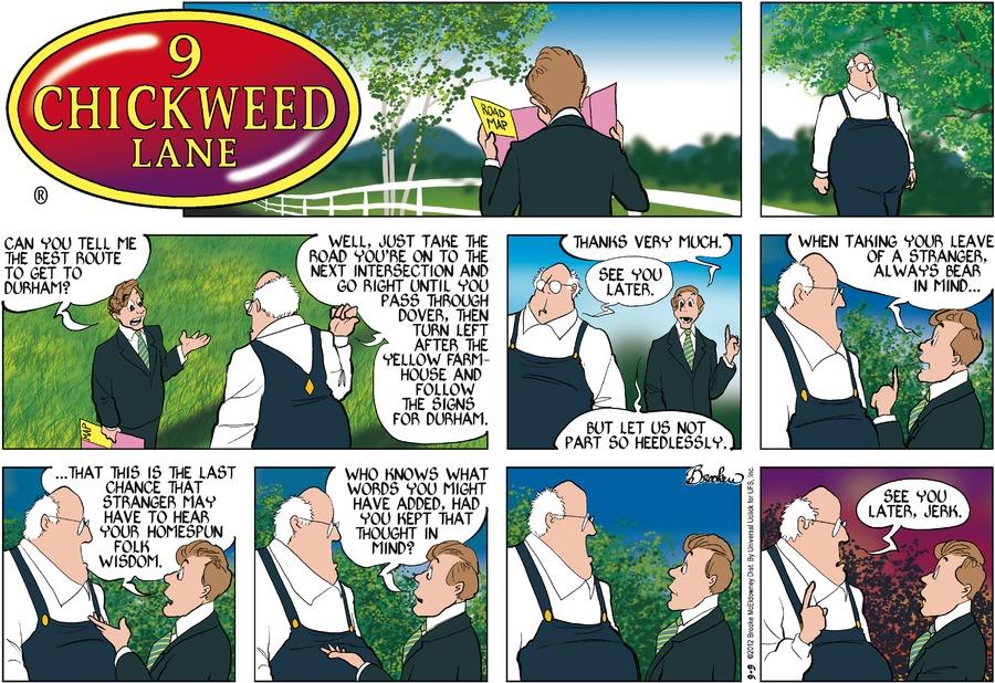 9 Chickweed Lane for Sep 9, 2012 Comic Strip
