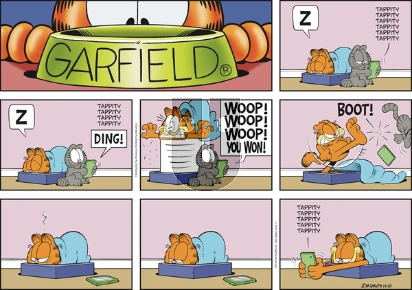 Garfield on Sunday November 10, 2019 Comic Strip