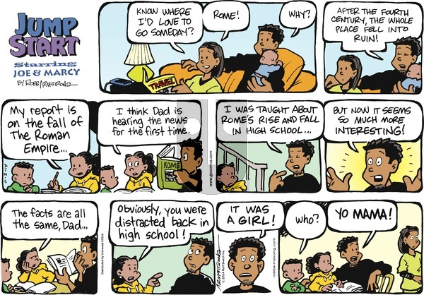 JumpStart on November 2, 2014 Comic Strip