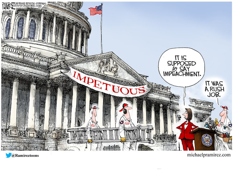 Michael Ramirez Comic Strip for December 10, 2019