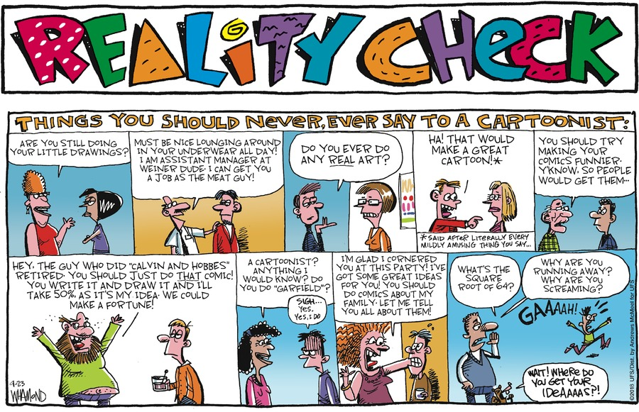 Reality Check Comic Strip for September 23, 2018