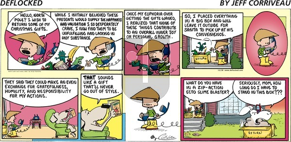 DeFlocked on Sunday December 28, 2014 Comic Strip