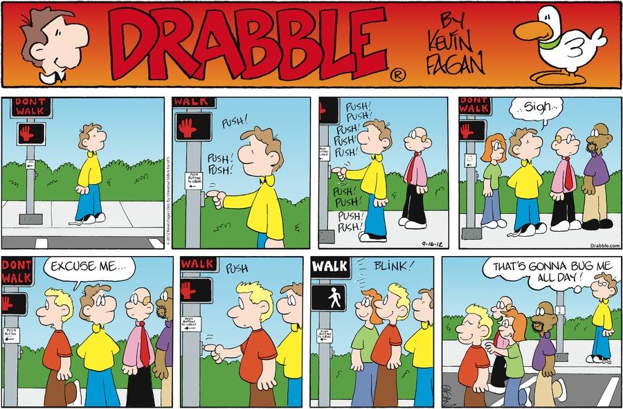 Drabble for Sep 16, 2012 Comic Strip