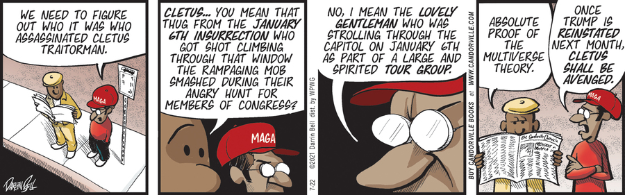 Candorville Comic Strip for July 22, 2021