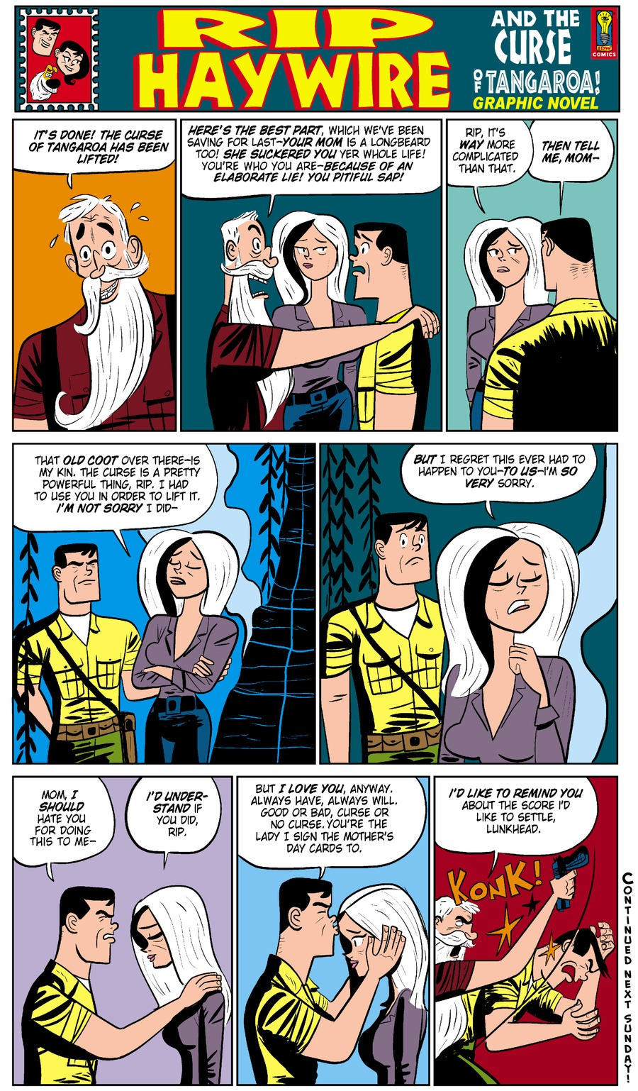 Rip Haywire Comic Strip for January 18, 2015