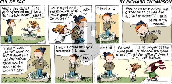 Cul de Sac on Sunday February 3, 2019 Comic Strip