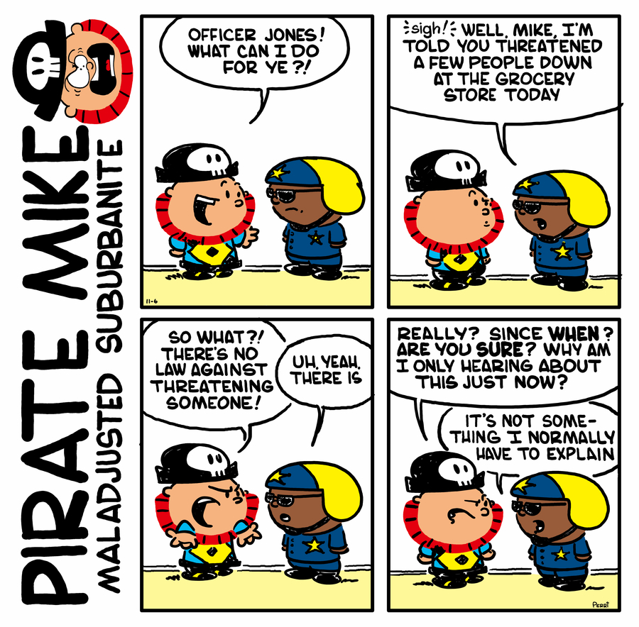 Pirate Mike by Brad Perri on Wed, 01 Jul 2020