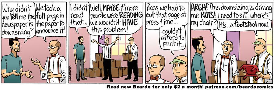 Beardo Comic Strip for July 22, 2021