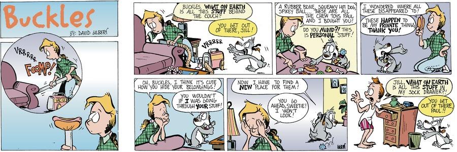 Buckles Comic Strip for September 26, 2021
