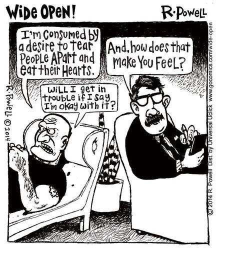 Wide Open for Jul 24, 2014 Comic Strip
