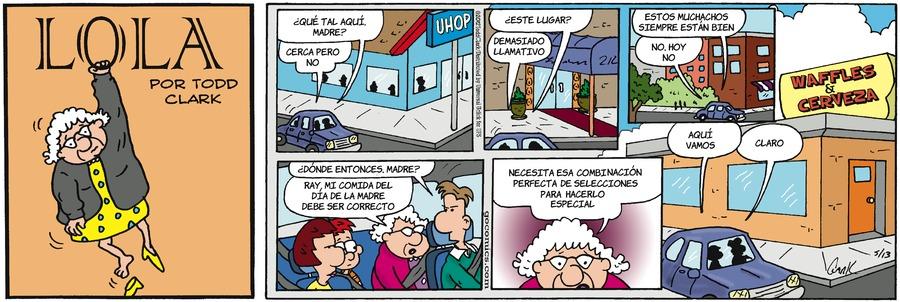 Lola en Español by Todd Clark on Sun, 07 Feb 2021