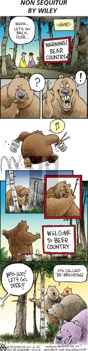 Non Sequitur - Sunday June 16, 2013 Comic Strip