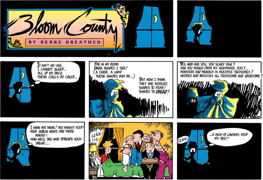 Bloom County Comic Strip for June 18, 2019