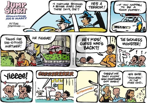 JumpStart on Sunday May 22, 2016 Comic Strip