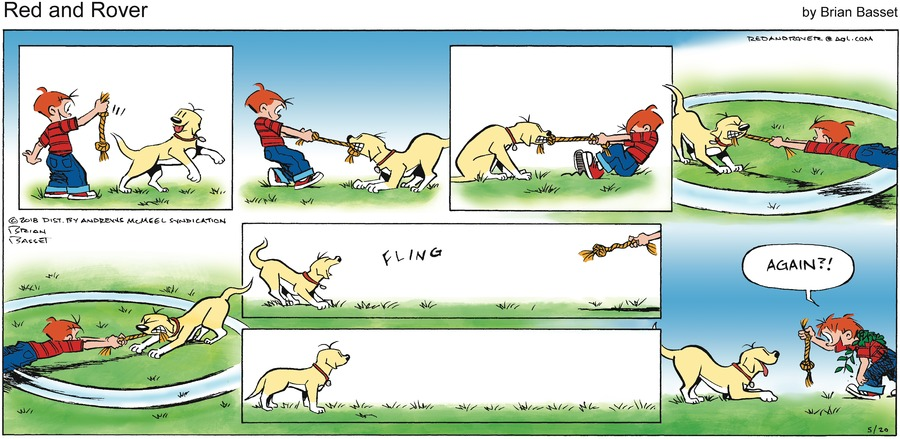 Red and Rover for May 20, 2018 Comic Strip