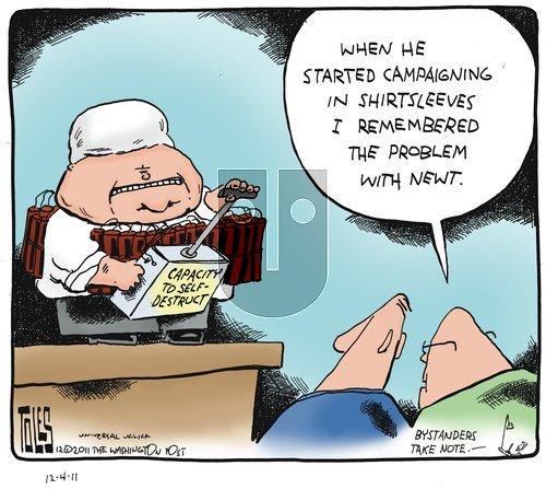 Tom Toles - Sunday December 4, 2011 Comic Strip