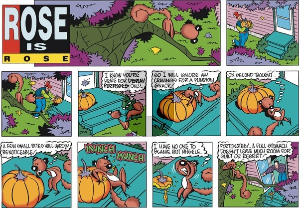 Rose is Rose on Sunday October 20, 2019 Comic Strip
