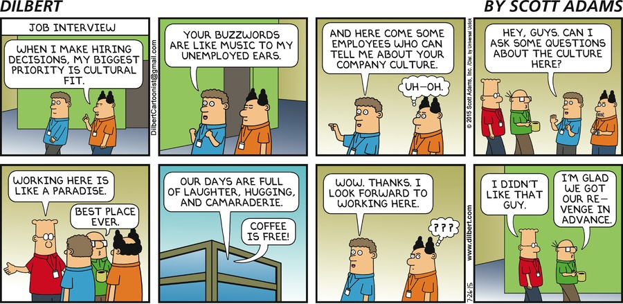 Dilbert – July 26th, 2015