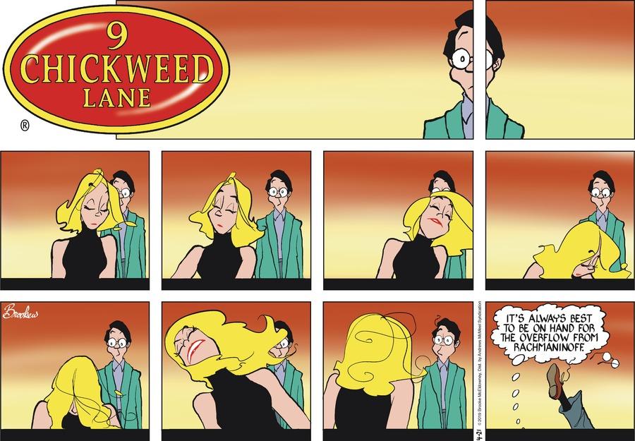 9 Chickweed Lane Comic Strip for April 21, 2019