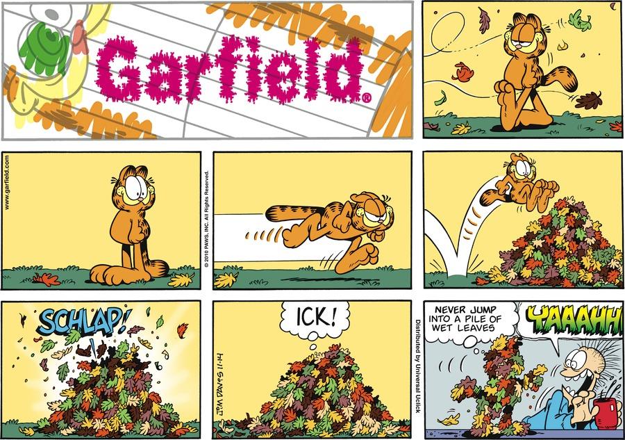 Garfield Comic Strip for November 14, 2010
