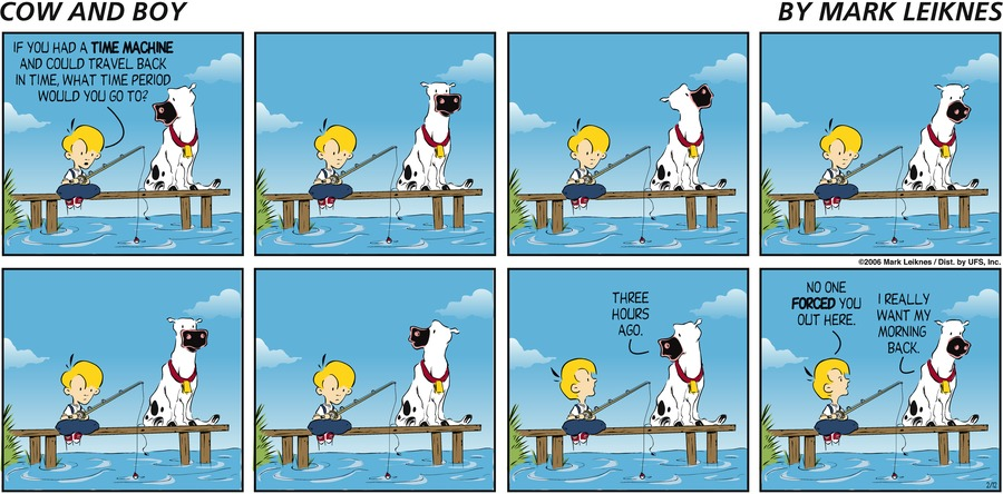 Cow and Boy Classics Comic Strip for October 10, 2019