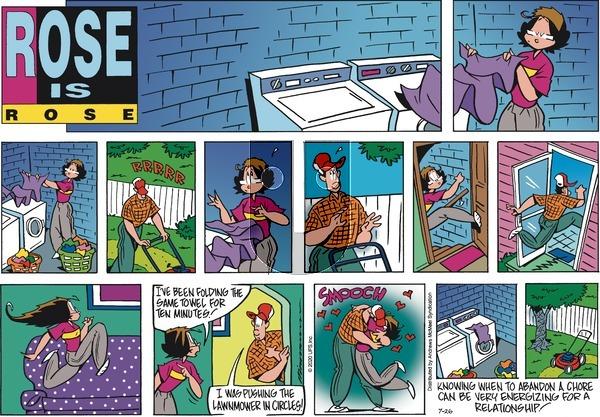 Rose is Rose - Sunday July 26, 2020 Comic Strip