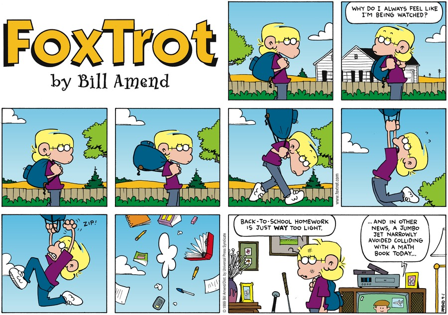 FoxTrot for Sep 1, 2002 Comic Strip