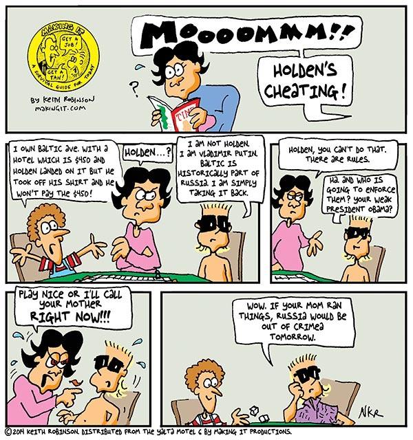 Making It for Apr 3, 2014 Comic Strip