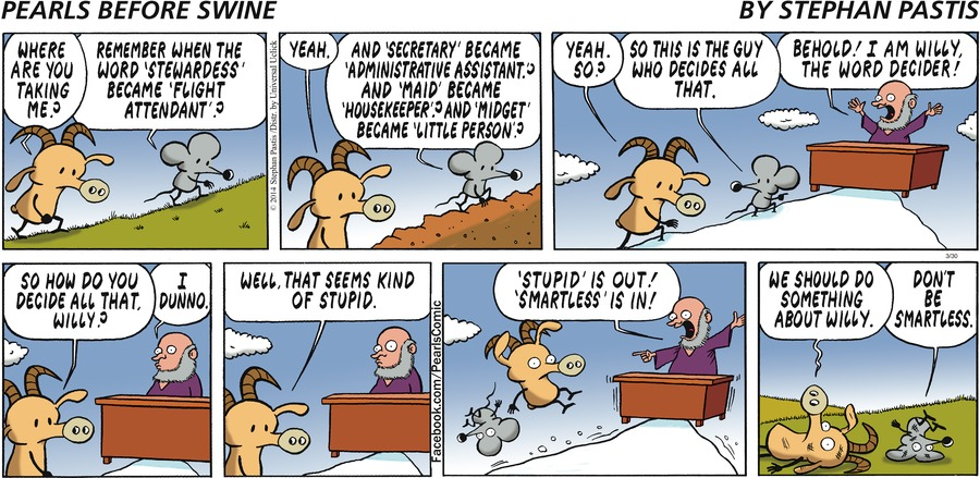 Pearls Before Swine Comic Strip for March 30, 2014