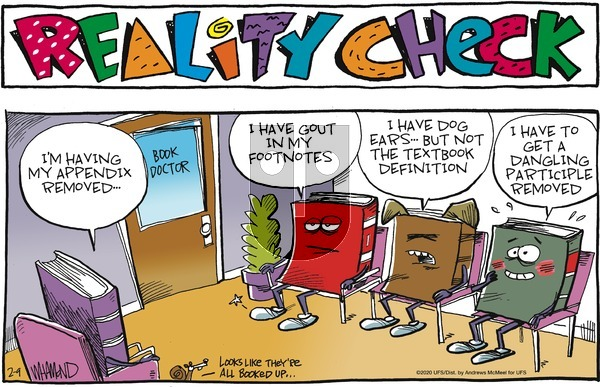 Reality Check on Sunday February 9, 2020 Comic Strip