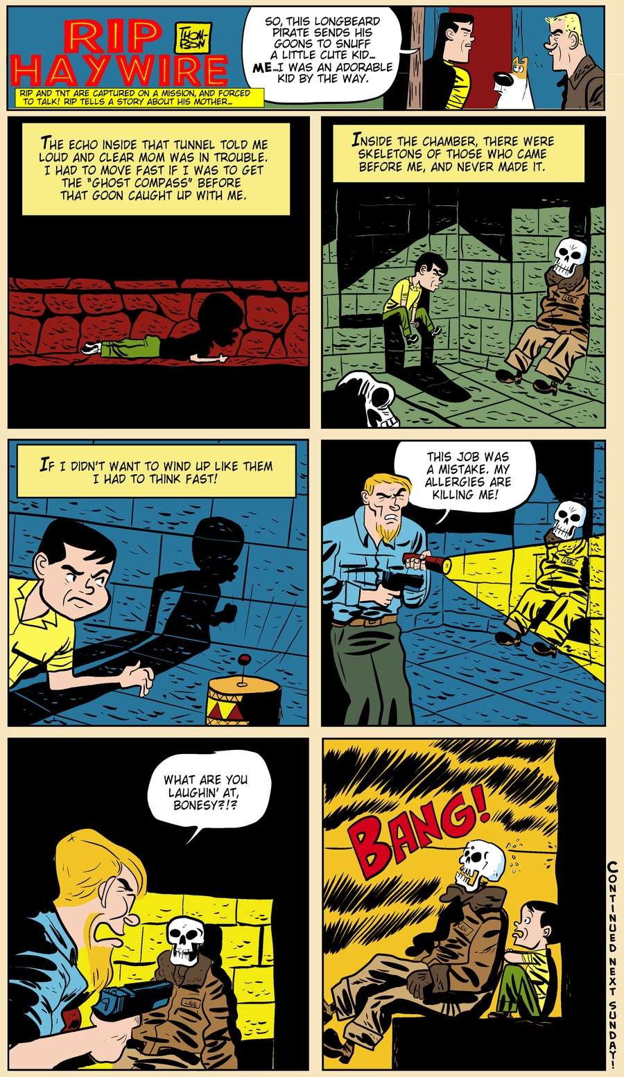 Rip Haywire Comic Strip for August 04, 2013