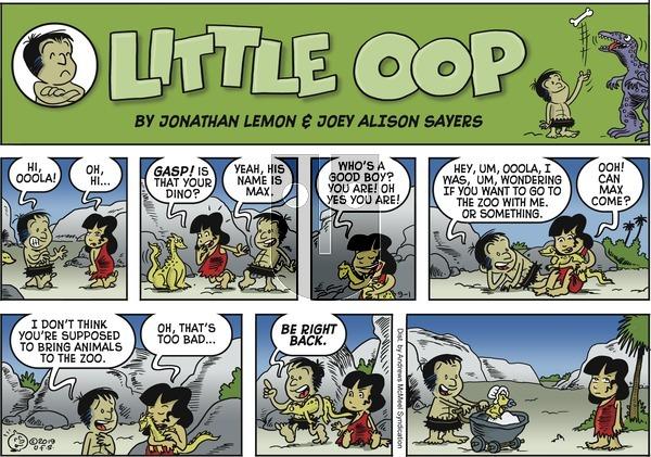 Alley Oop - Sunday September 1, 2019 Comic Strip