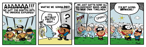 Pirate Mike on Tuesday February 5, 2019 Comic Strip