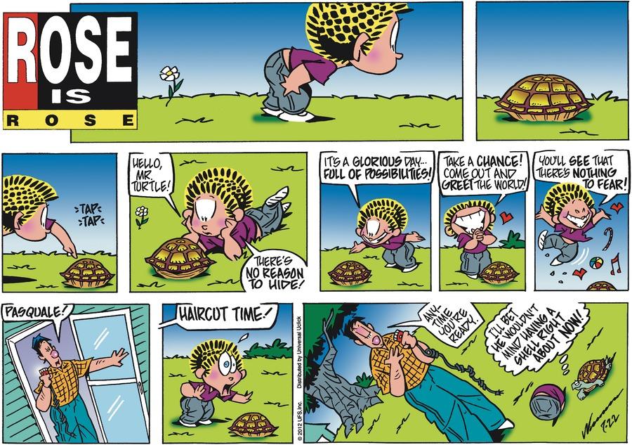 Rose is Rose for Jul 22, 2012 Comic Strip