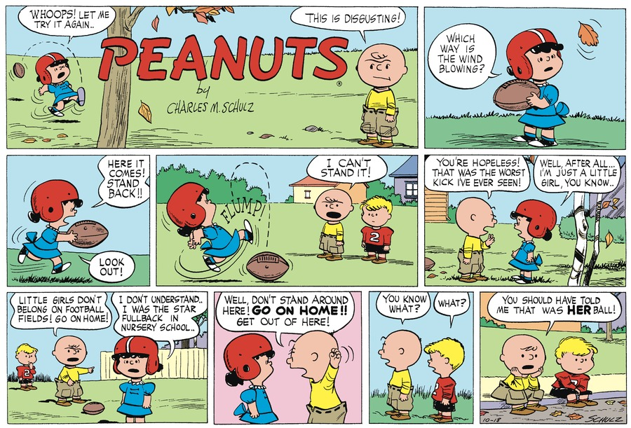 Peanuts Begins by Charles Schulz on Fri, 15 Oct 2021