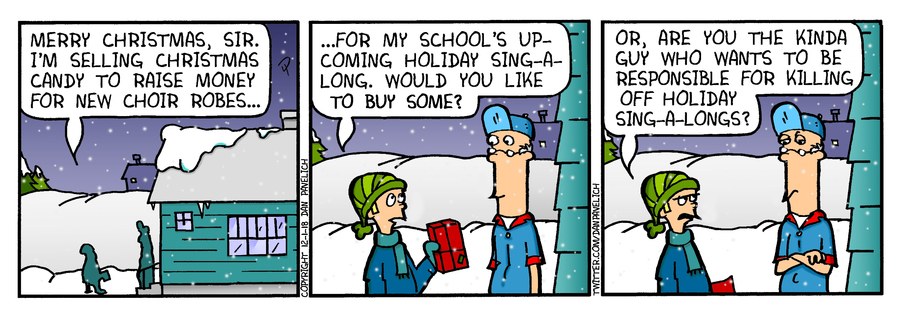Just Say Uncle Comic Strip for December 01, 2018