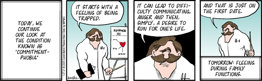 Rudy Park Comic Strip for January 27, 2021
