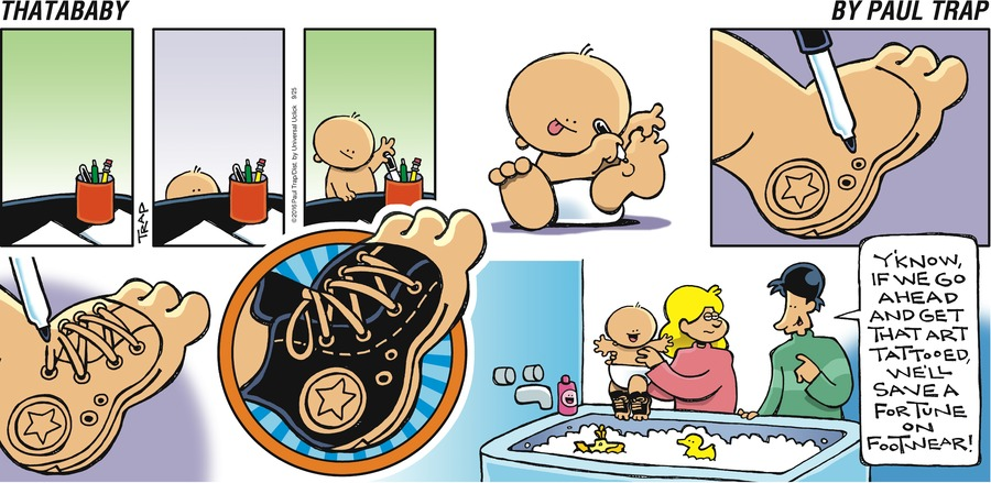 Thatababy for Sep 25, 2016 Comic Strip