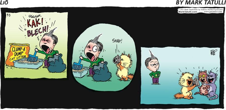 Lio Comic Strip for September 05, 2021