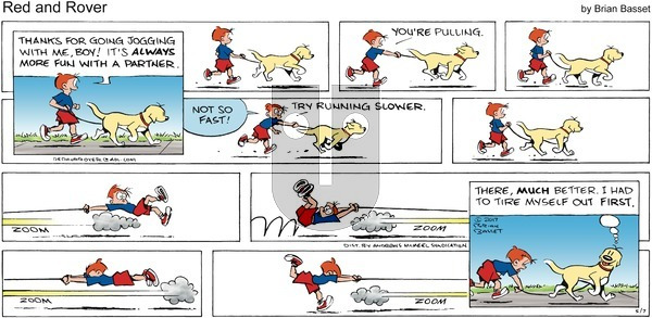 Red and Rover on Sunday May 7, 2017 Comic Strip