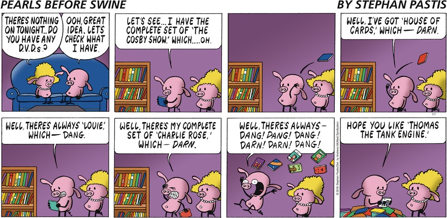 Pearls Before Swine Comic Strip for January 07, 2018